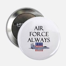 """Air Force Always 2.25"""" Button (100 pack)"""