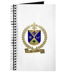 DESJARDIN Family Crest Journal