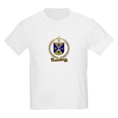 DESJARDIN Family Crest Kids T-Shirt