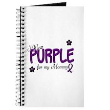 I Wear Purple For My Mommy 14 Journal