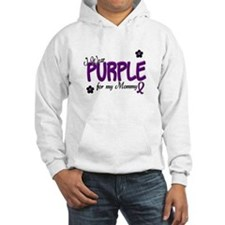 I Wear Purple For My Mommy 14 Hoodie