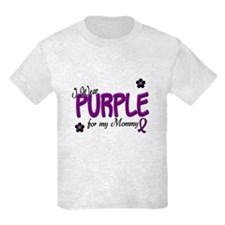 I Wear Purple For My Mommy 14 T-Shirt