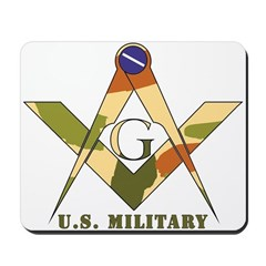 Military Free Mason Mousepad