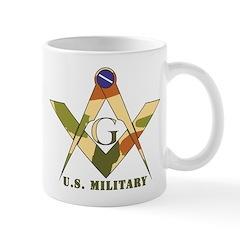 Military Free Mason Mug