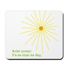 Solar Power Mousepad