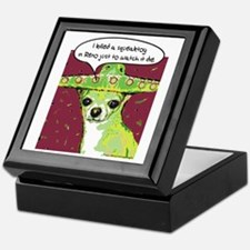Killer Chihuahua Keepsake Box