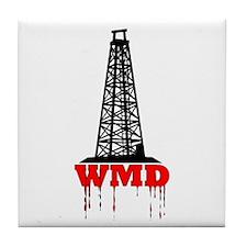 No Blood for Oil, WMD Tile Coaster