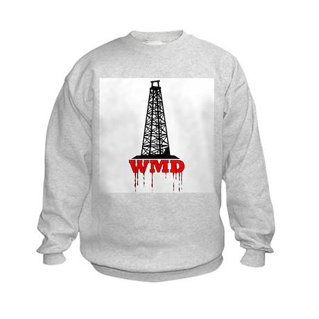 No Blood for Oil, WMD Kids Sweatshirt