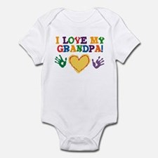 I Love My Grandpa Infant Bodysuit