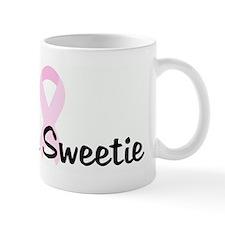 Team Sweetie pink ribbon Mug