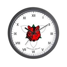 Ealdormere Populace Wall Clock