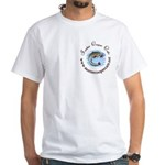 SCC Club White T-Shirt with breast logo
