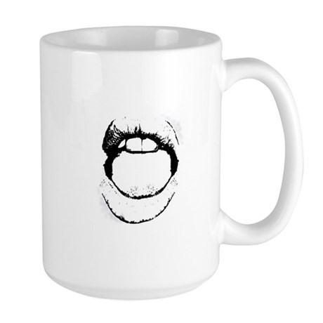 Hot Lips Large Mug