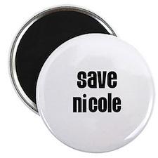 Save Nicole Magnet