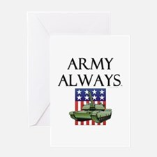 Army Always Greeting Card