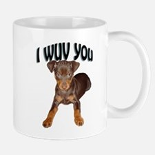 minpin puppy Mug