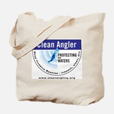Cute Clean angler inspect clean dry fishing Tote Bag