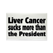 Liver Cancer Rectangle Magnet