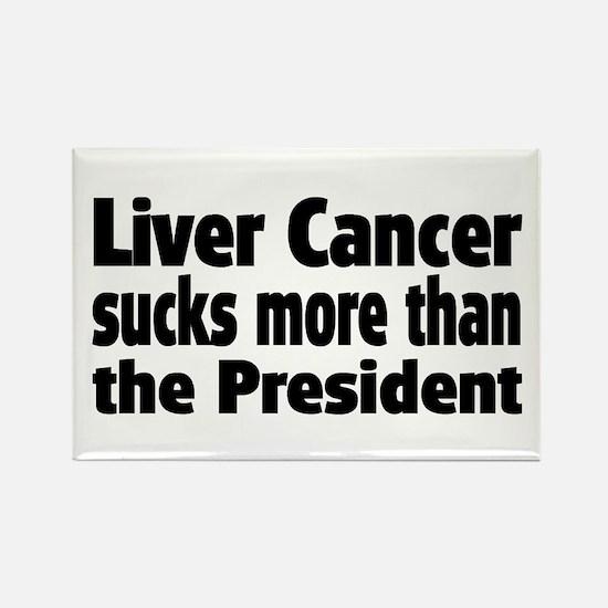 Liver Cancer Rectangle Magnet