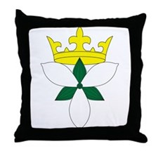 Queen of Ealdormere Throne Pillow