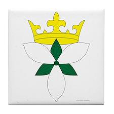 Queen of Ealdormere Tile Coaster