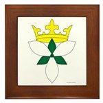 Queen of Ealdormere Framed Tile