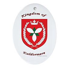 Kingdom of Ealdormere Oval Ornament