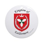 Kingdom of Ealdormere Ornament (Round)