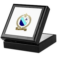 CHARPENTIER Family Crest Keepsake Box