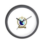 CHARPENTIER Family Crest Wall Clock