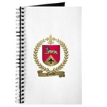 CHARTIER Family Crest Journal