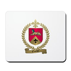 CHARTIER Family Crest Mousepad