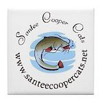 Santee Cooper Cats Tile Coaster