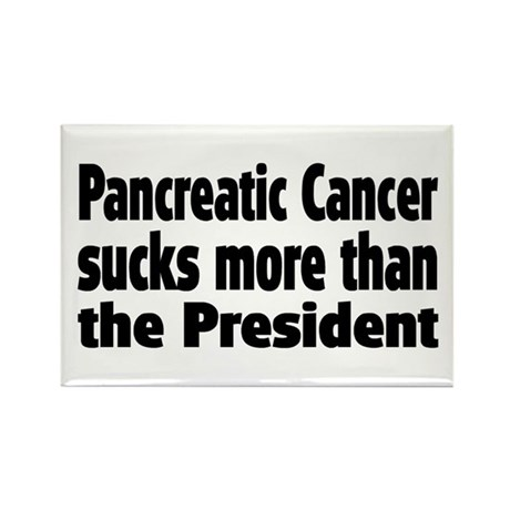 Pancreatic Cancer Rectangle Magnet