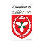 Kingdom of Ealdormere Rectangle Sticker 50 pk)
