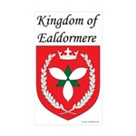 Kingdom of Ealdormere Rectangle Sticker 10 pk)