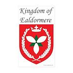 Kingdom of Ealdormere Rectangle Sticker 10 pk)