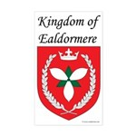 Kingdom of Ealdormere Rectangle Sticker