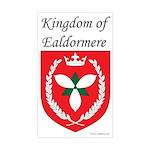 Kingdom of Ealdormere Rectangle Sticker