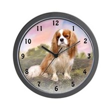 Cavalier flowers Wall Clock
