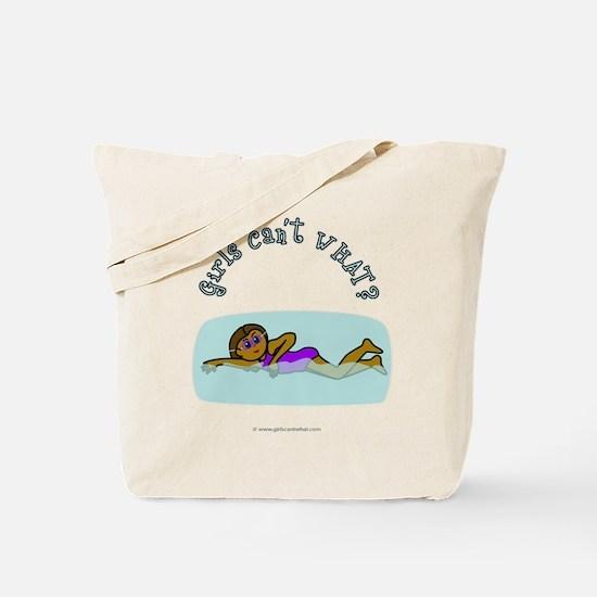 Dark Swimmer Tote Bag