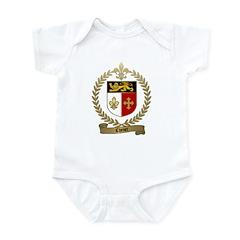 CHENET Family Crest Infant Creeper