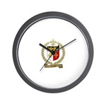 CHENET Family Crest Wall Clock