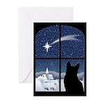 Silent Night Christmas Cards (Pk of 20)