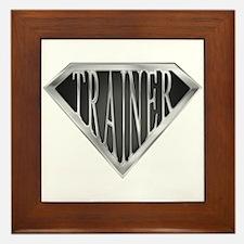 SuperTrainer(metal) Framed Tile