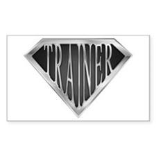SuperTrainer(metal) Rectangle Decal