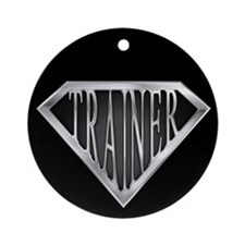 SuperTrainer(metal) Ornament (Round)