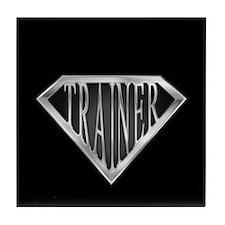 SuperTrainer(metal) Tile Coaster