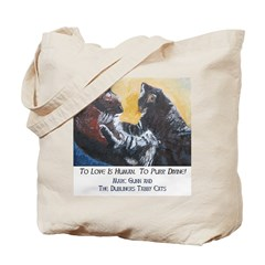 To Purr Is Divine, To Love Is Tote Bag
