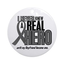 Never Knew A Hero 2 Grey (Boyfriend) Ornament (Rou